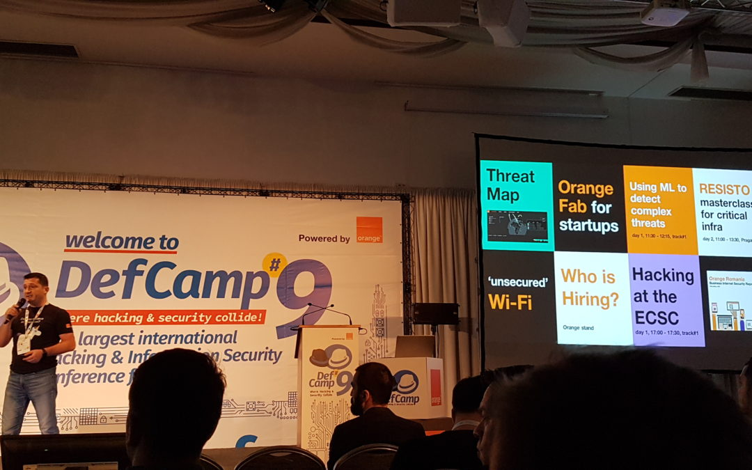 DEFCAMP 2018 – INTERNATIONAL HACKING & INFORMATION SECURITY CONFERENCE