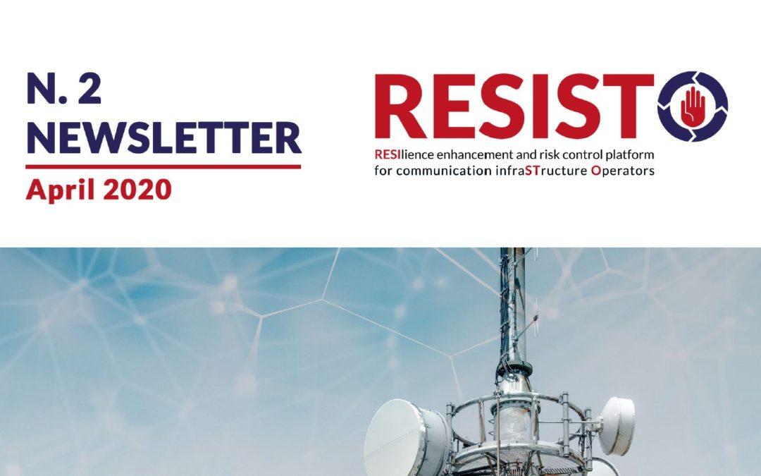 n.2 RESISTO NEWSLETTER | April 2020